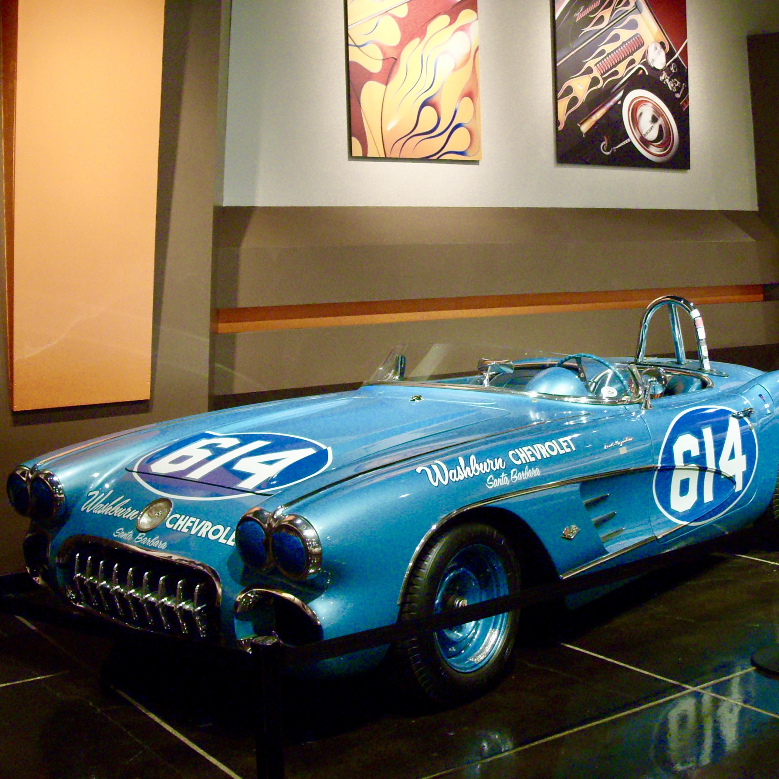 Chevrolet Corvette at Petersen Automotive Museum, LA, By Jez Braithwaite