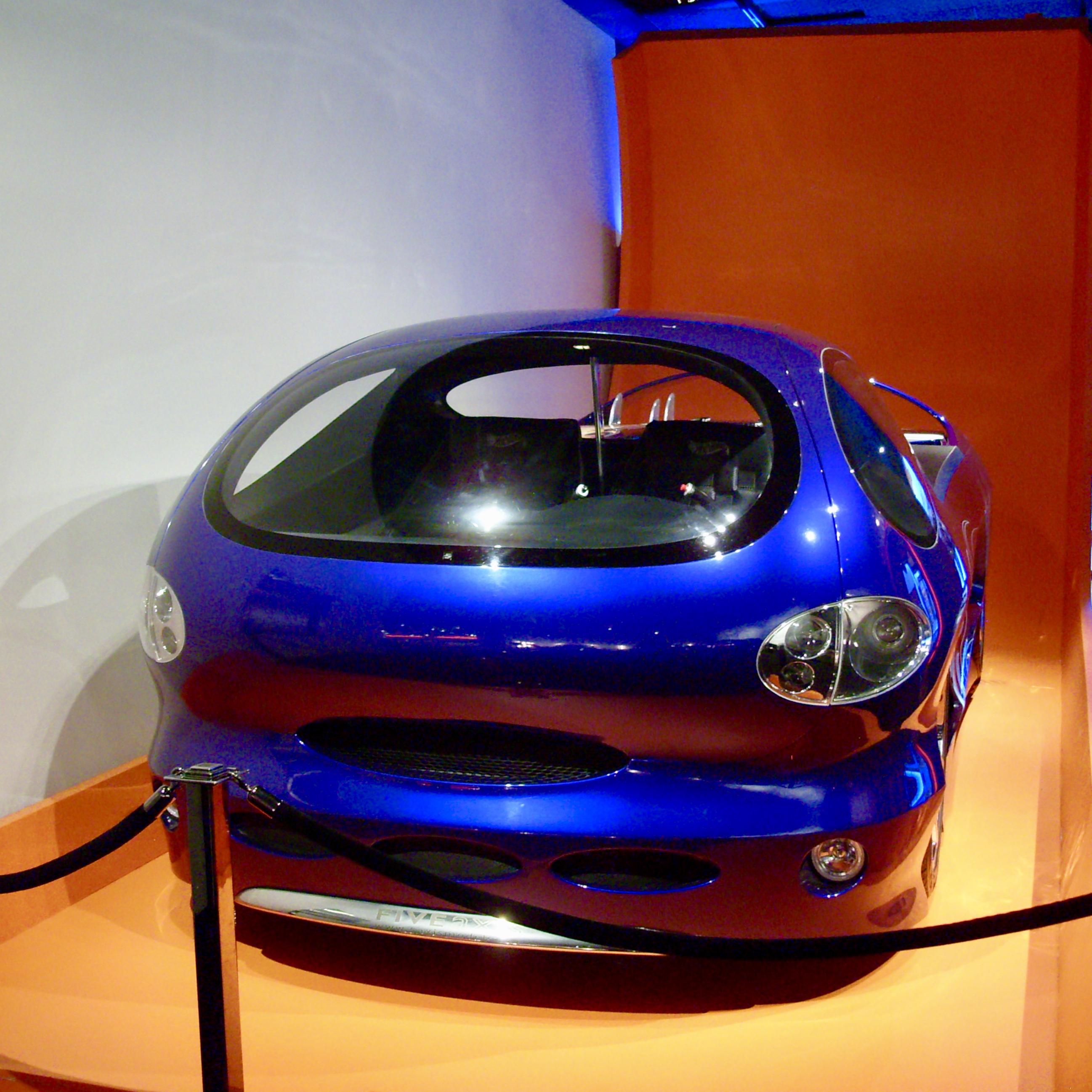 Hot Wheels Car at the Petersen Automotive Museum in LA, CA by Jez Braithwaite