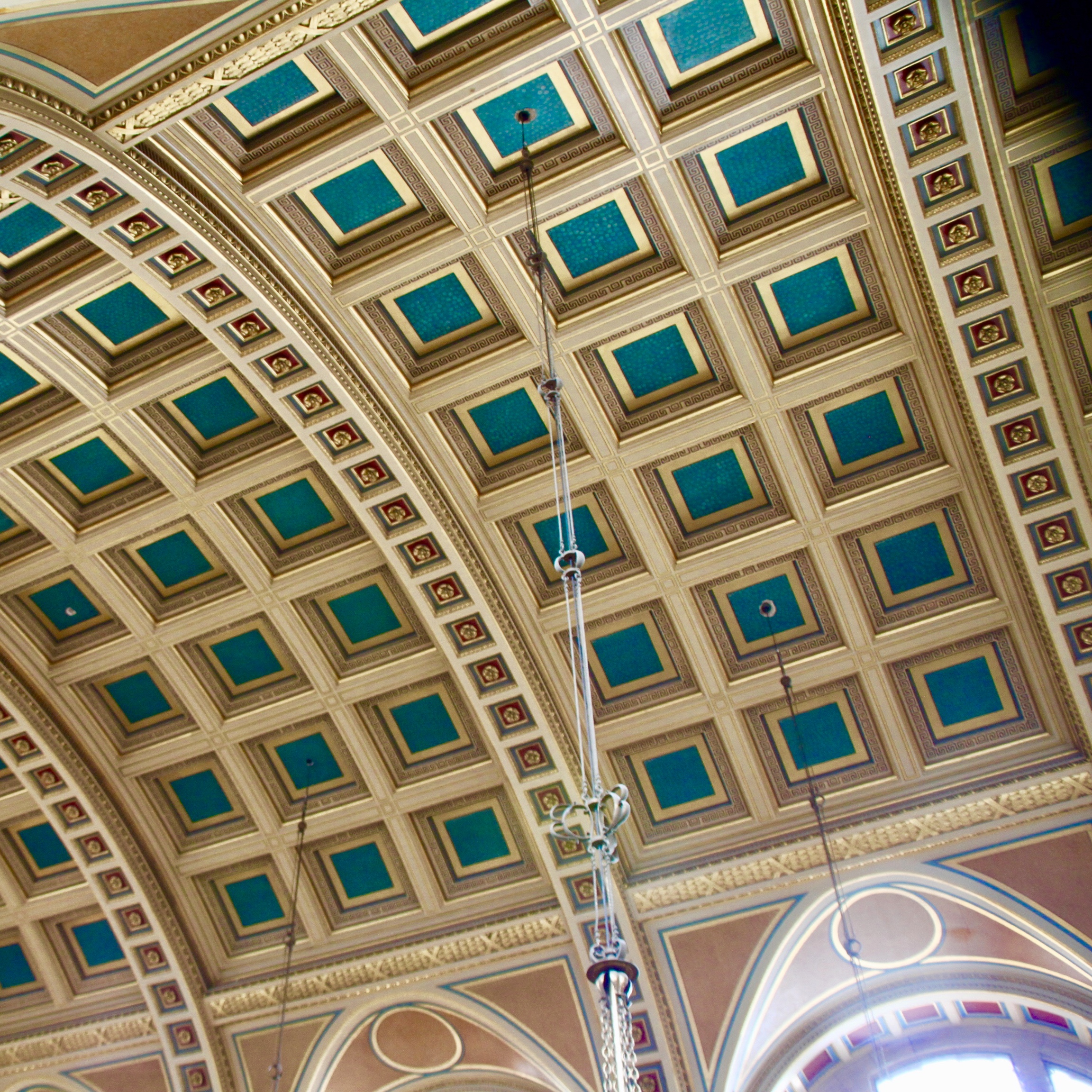Kelvingrove Art Gallery and Museum, Glasgow, vaulted ceiling by Jez Braithwaite