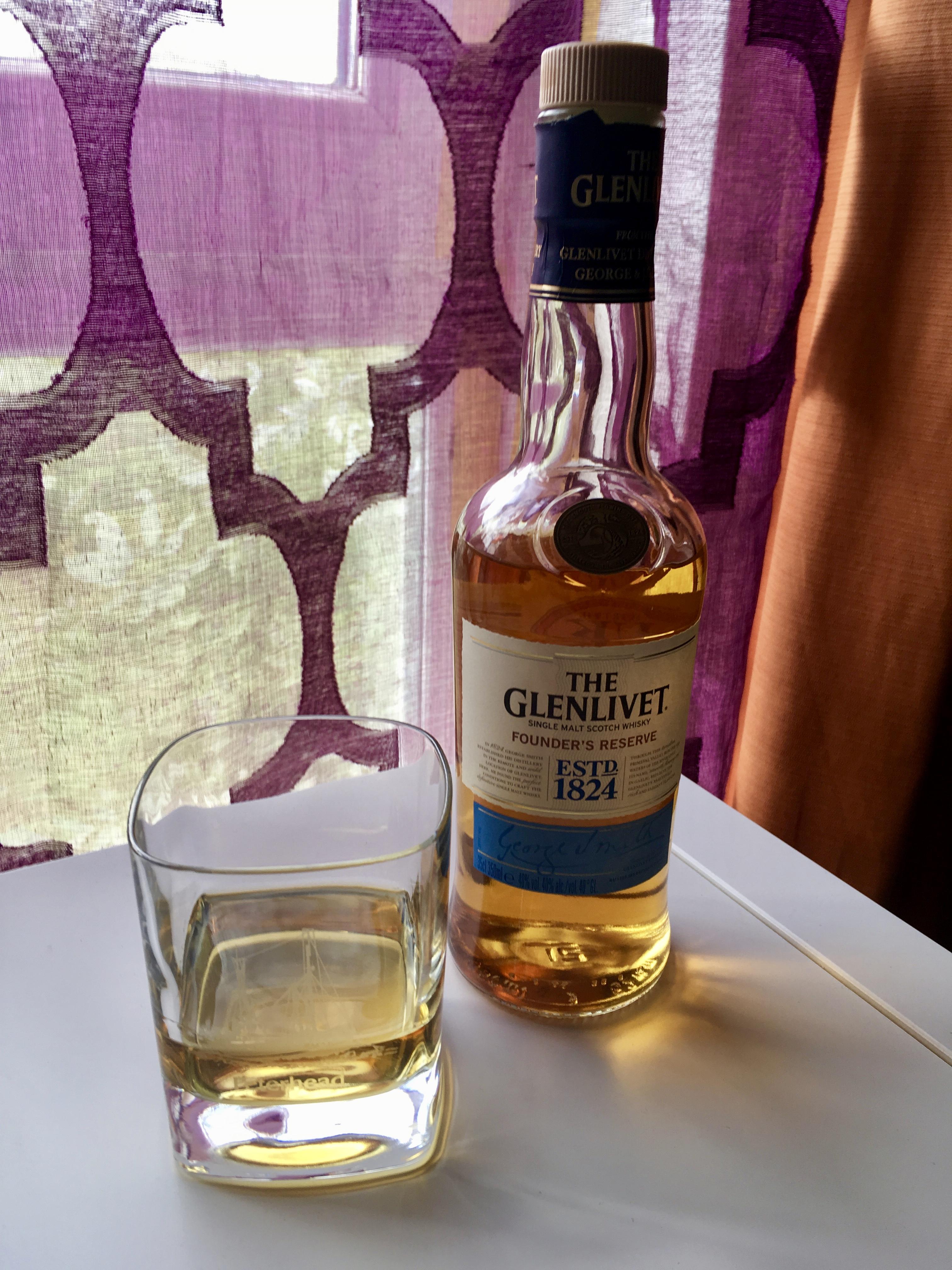 Glenlivet Single Malt Scotch Whisky by Jez Braithwaite