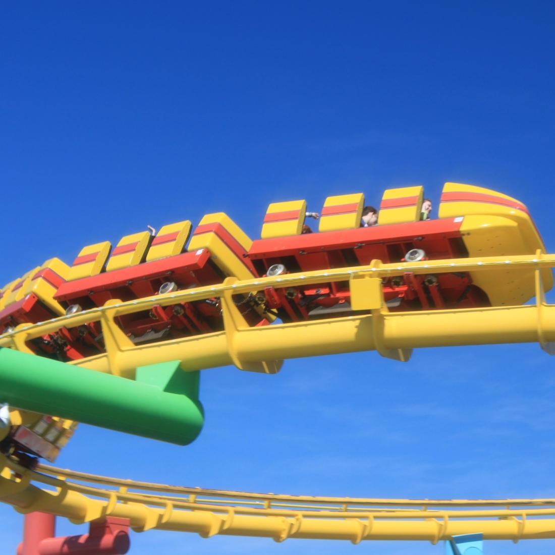 Roller Coaster at Pacific Park by Jez Braithwaite