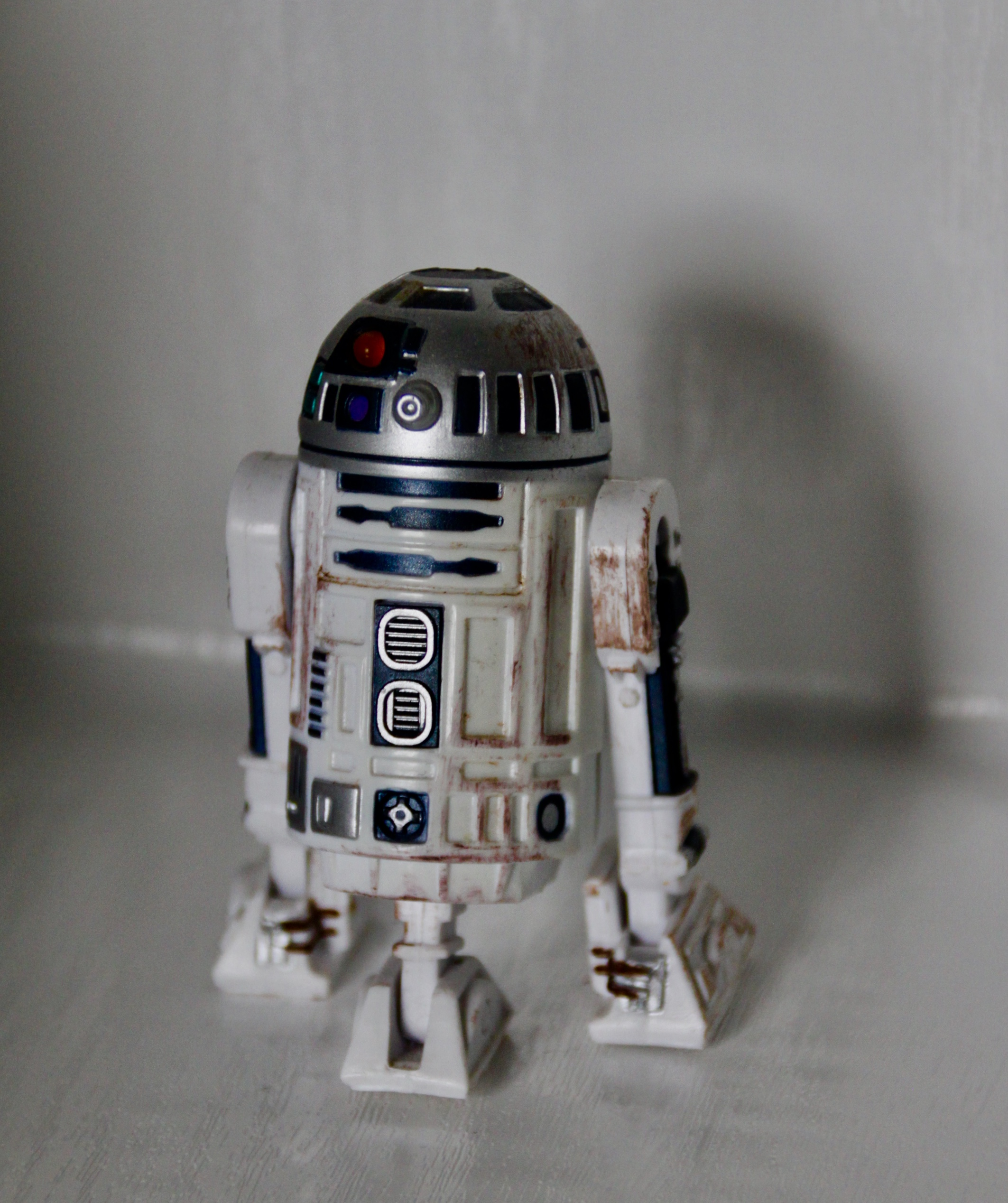 Model of R2D2 by Jez Braithwaite