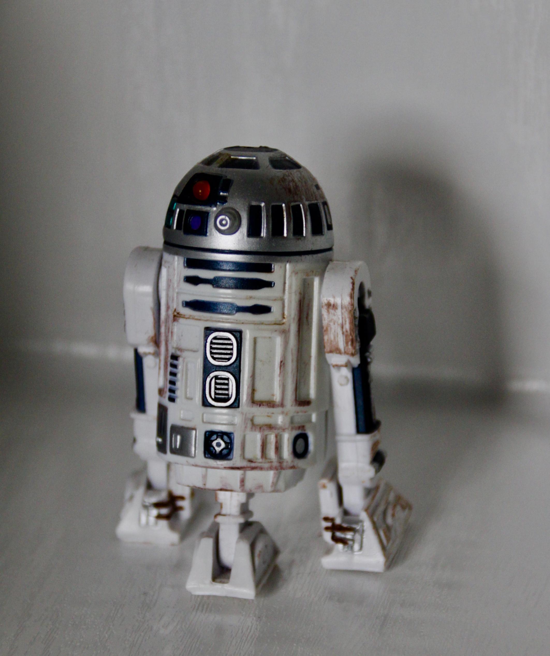 Model of R2D2 by Jez Braithwaite