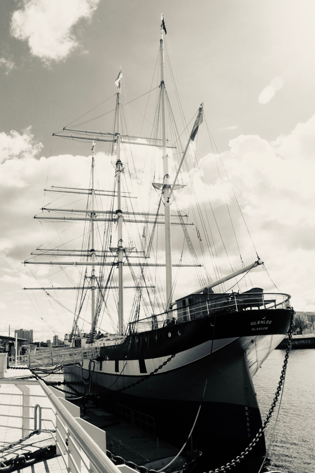 The Glen Lee aka the Tall Ship by Jez Braithwaite