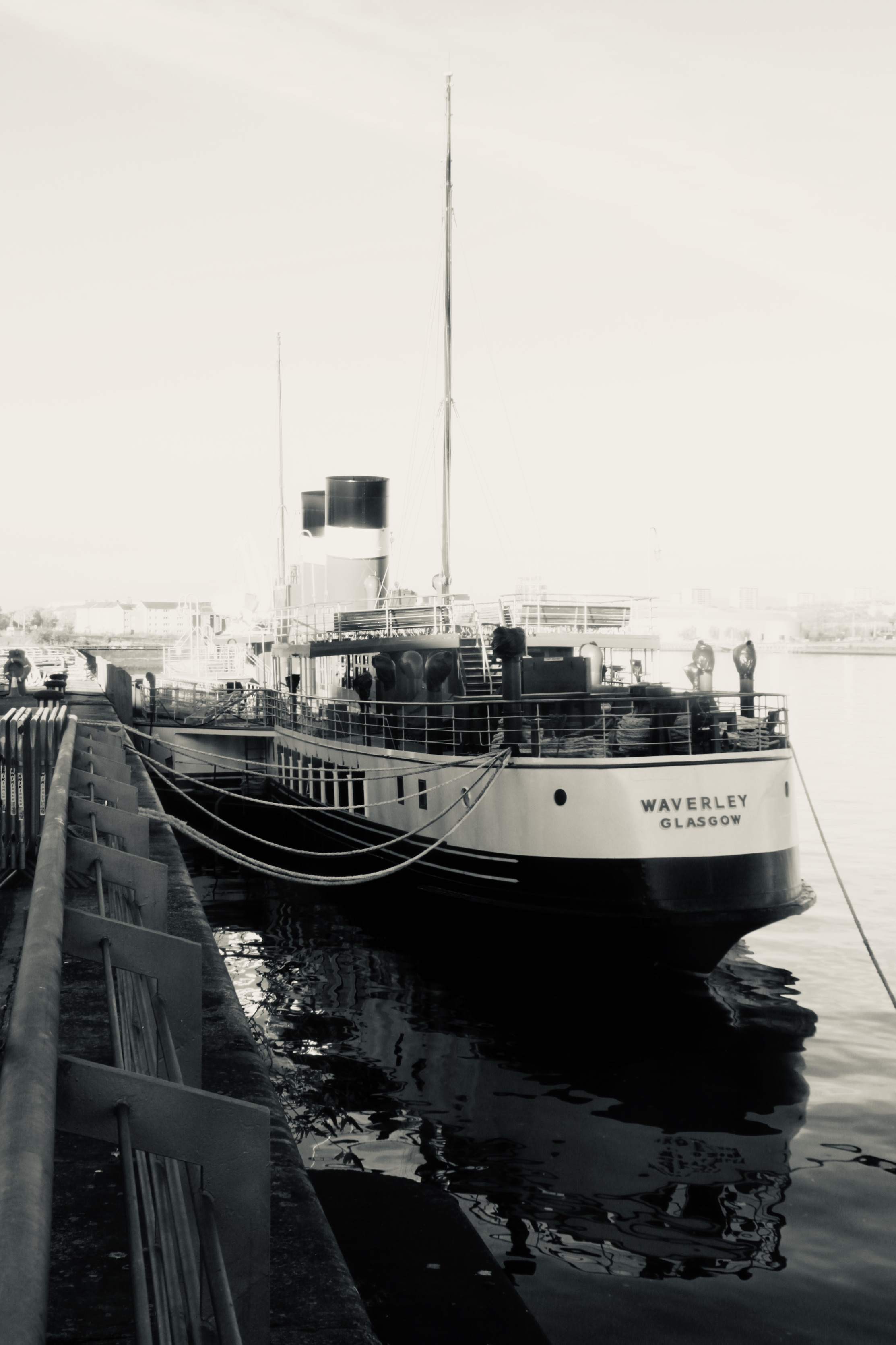 Waverley Paddle Steamer by Jez Braithwaite