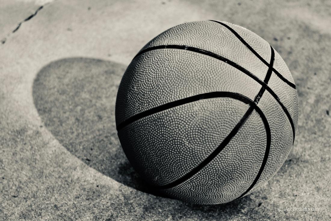 Basket ball by Jez Braithwaite