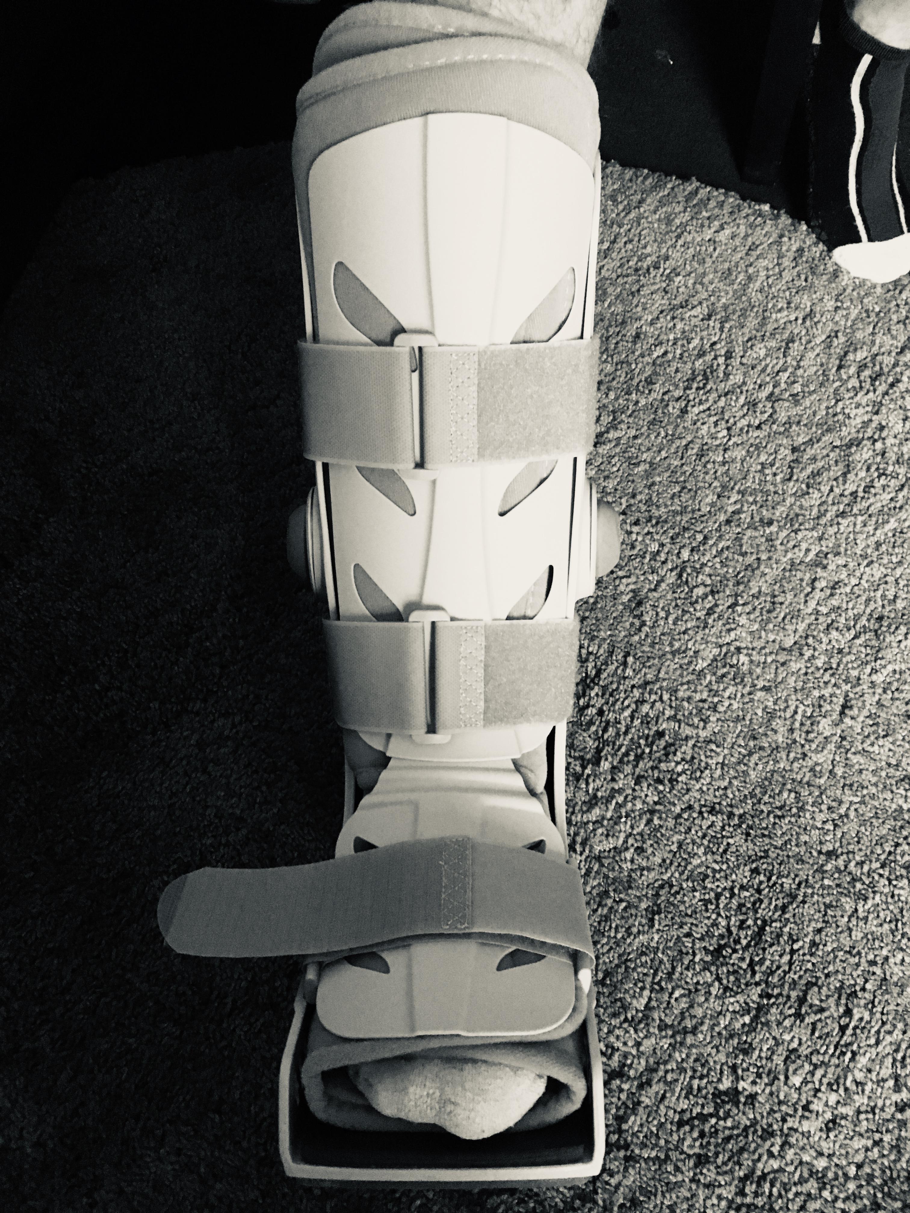 Storm Trooper Moon Boot by Jez Braithwaite
