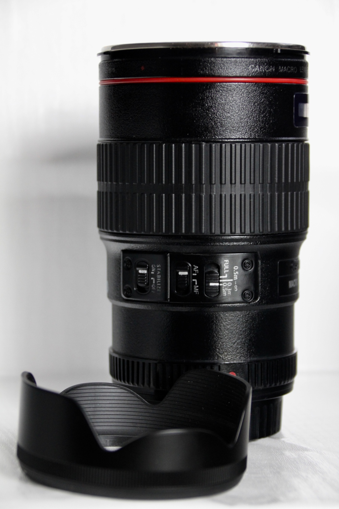 Canon lens mug and cookie holder by Jez Braithwaite