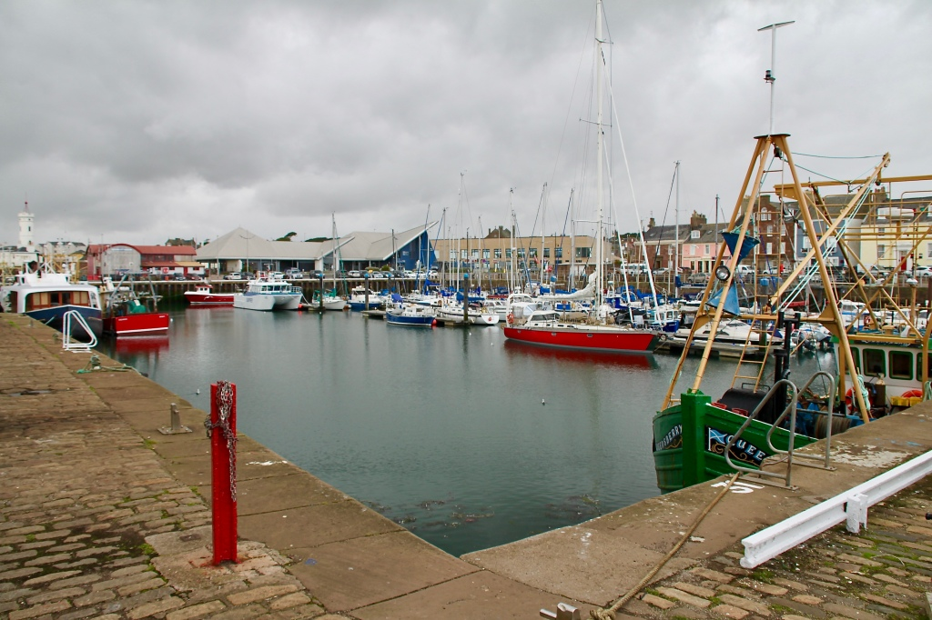 Arbroath Harbour by Jez Braithwaite