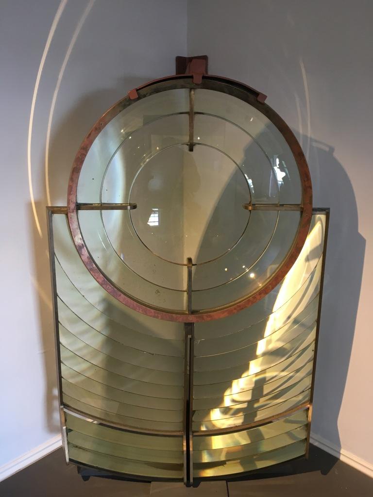 Bell Rock Lighthouse lens by Jez Braithwaite