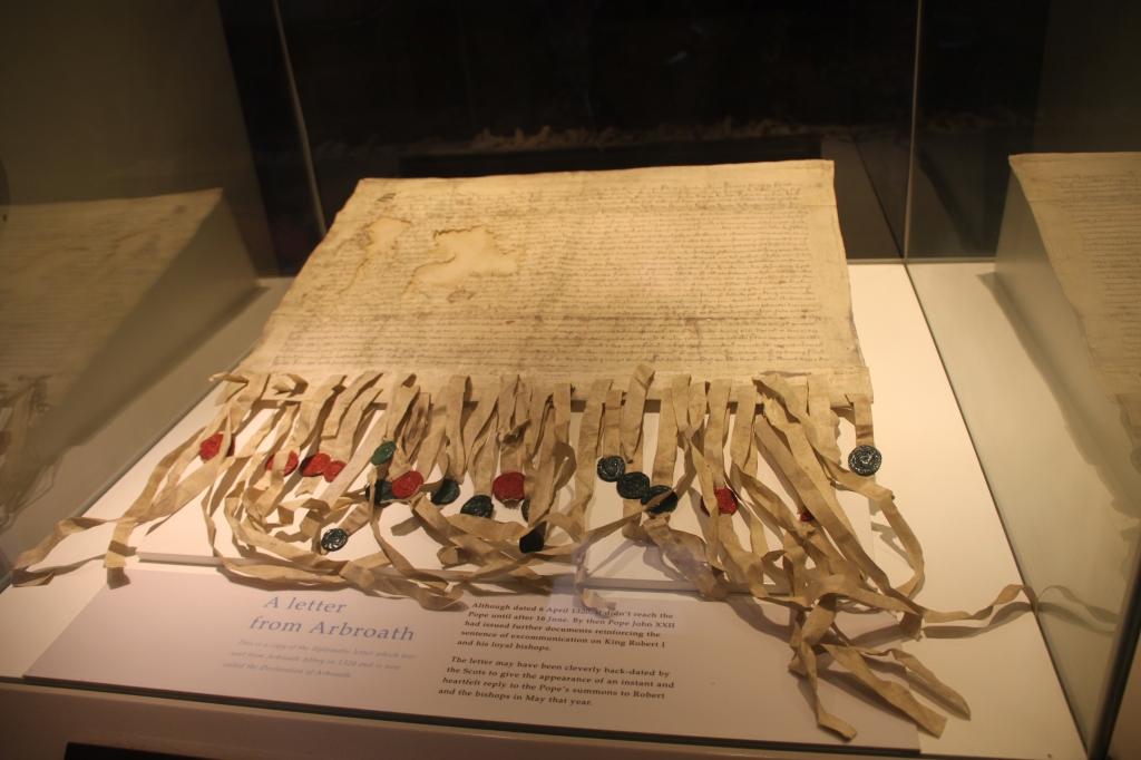 Declaration of Arbroath at Arbroath Abbey by Jez Braithwaite