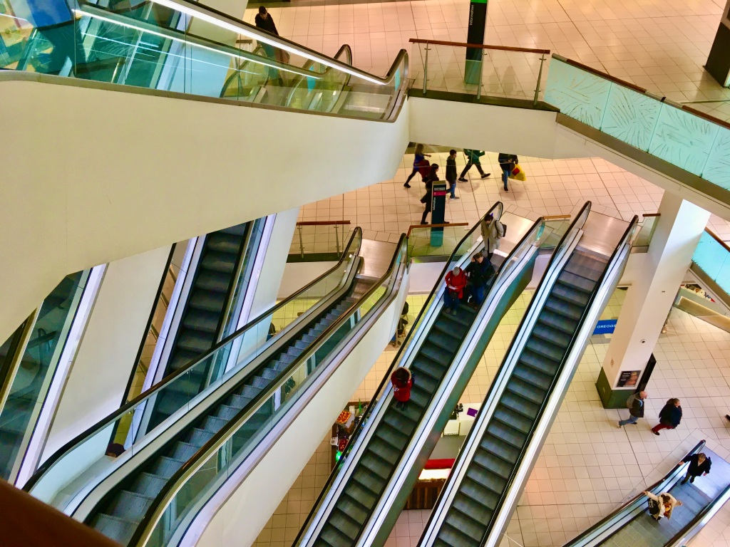 Escalators by Jez Braithwaite