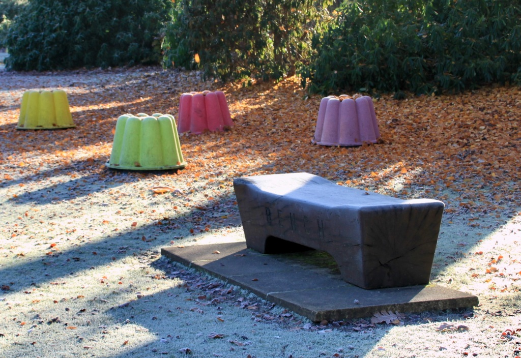 Jelly mould seats by Jez Braithwaite