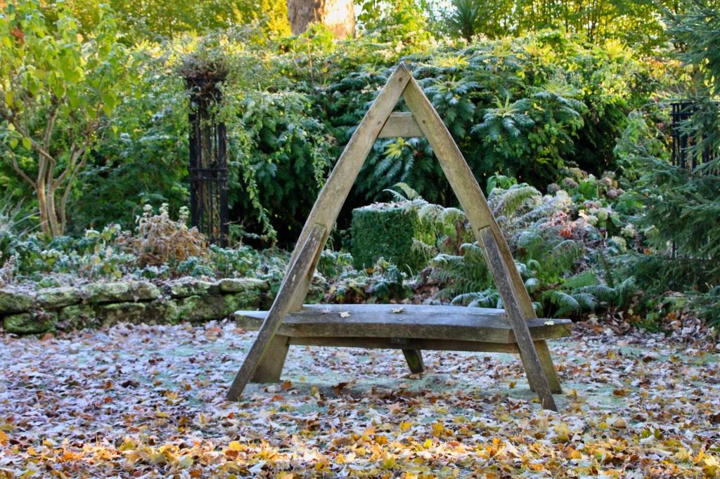 Orkney basket bench by Jez Braithwaite