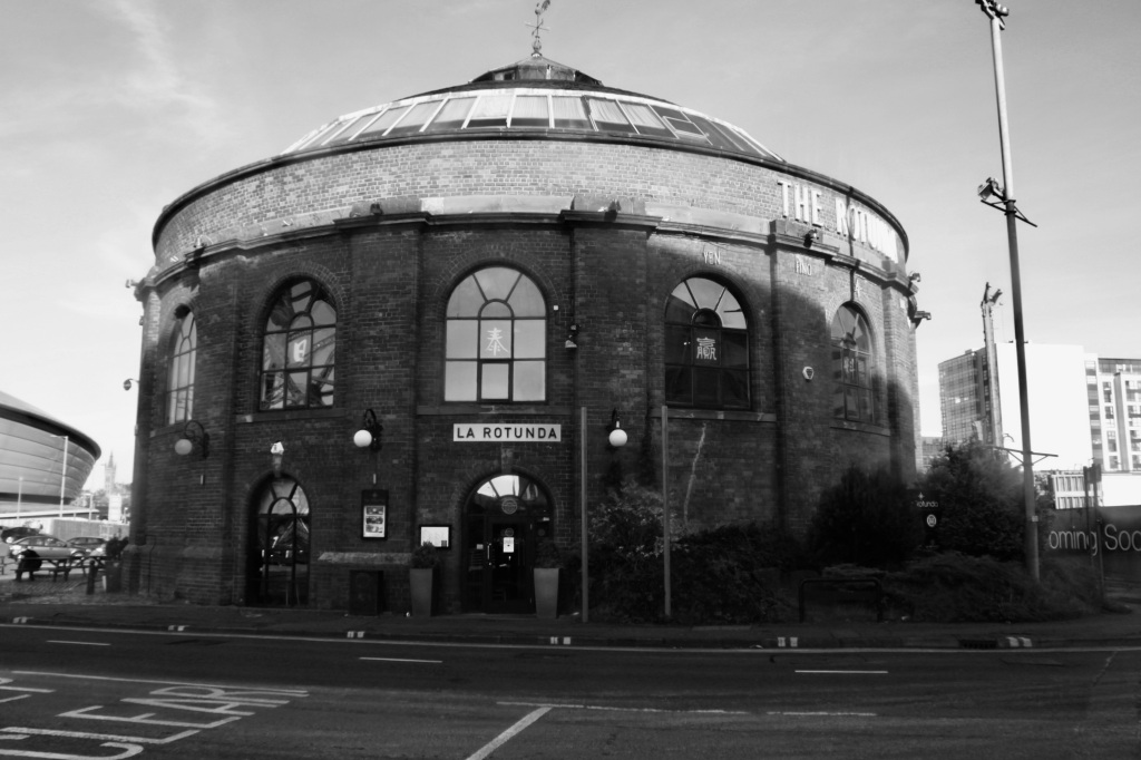 Glasgow Harbour Tunnel Rotunda by Jez Braithwaite