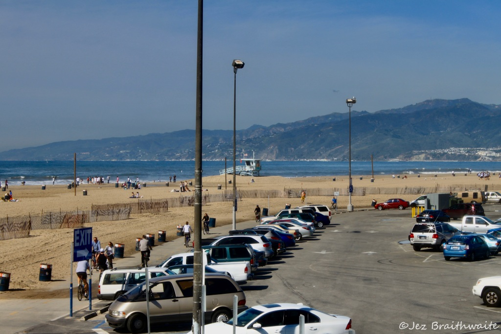 Santa Monica Beach by Jez Braithwaite