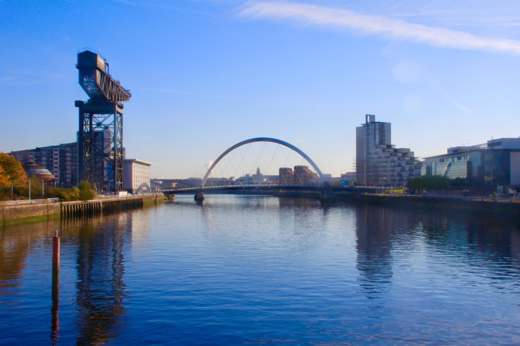 Clyde and Glasgow by Jez Braithwaite