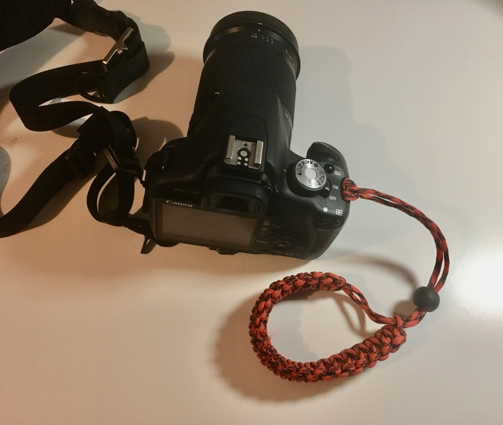 New wrist strap