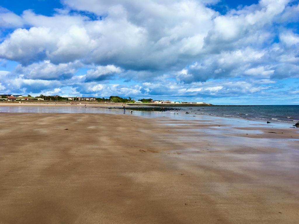 Arbroath beach