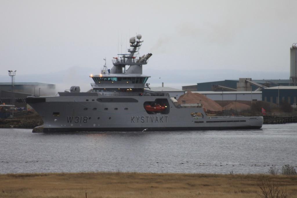 Norwegian Coast Guard Vessel