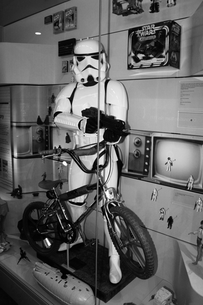 Stormtrooper and his BMX
