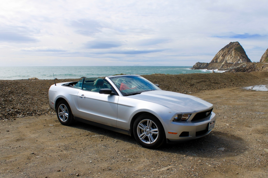 Roof down on PCH