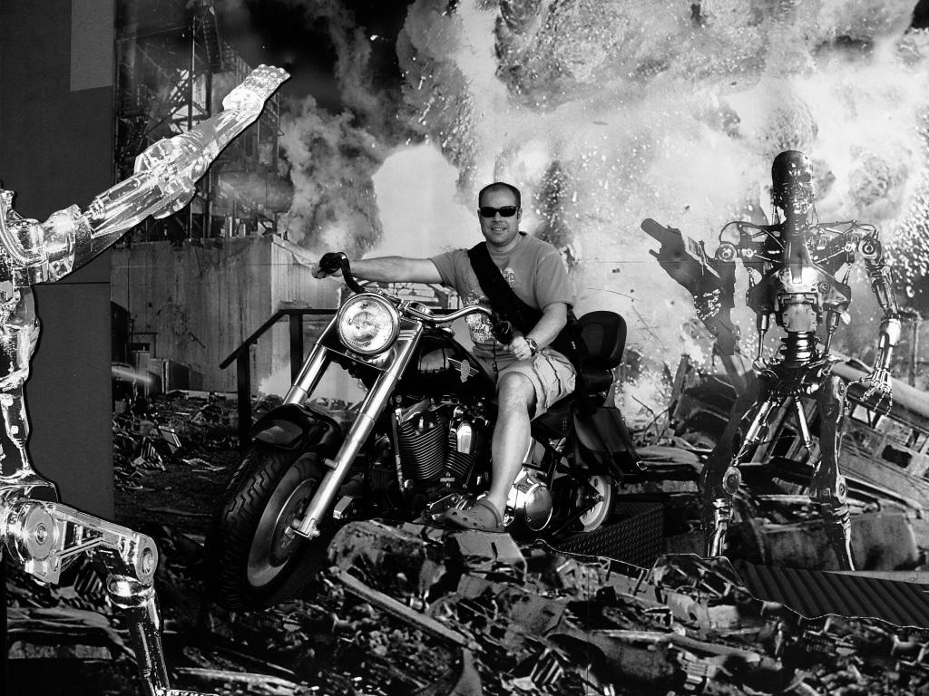 Terminator Bike at Universal