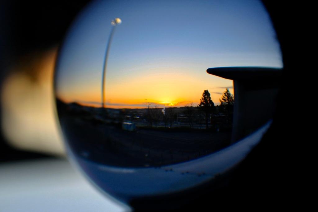 Sunrise in a Ball