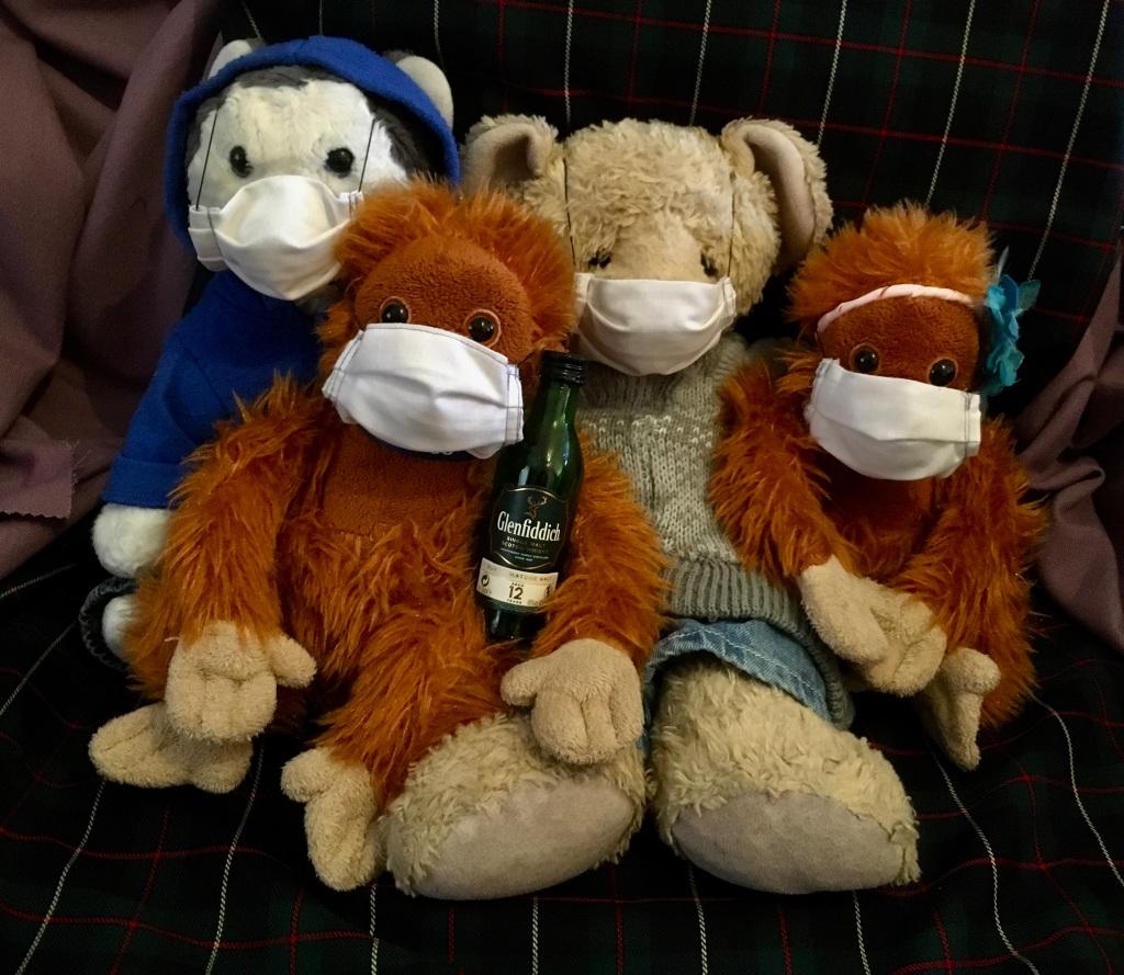 From left to right: Sven, Godfrey, Slugzy & Neenee
