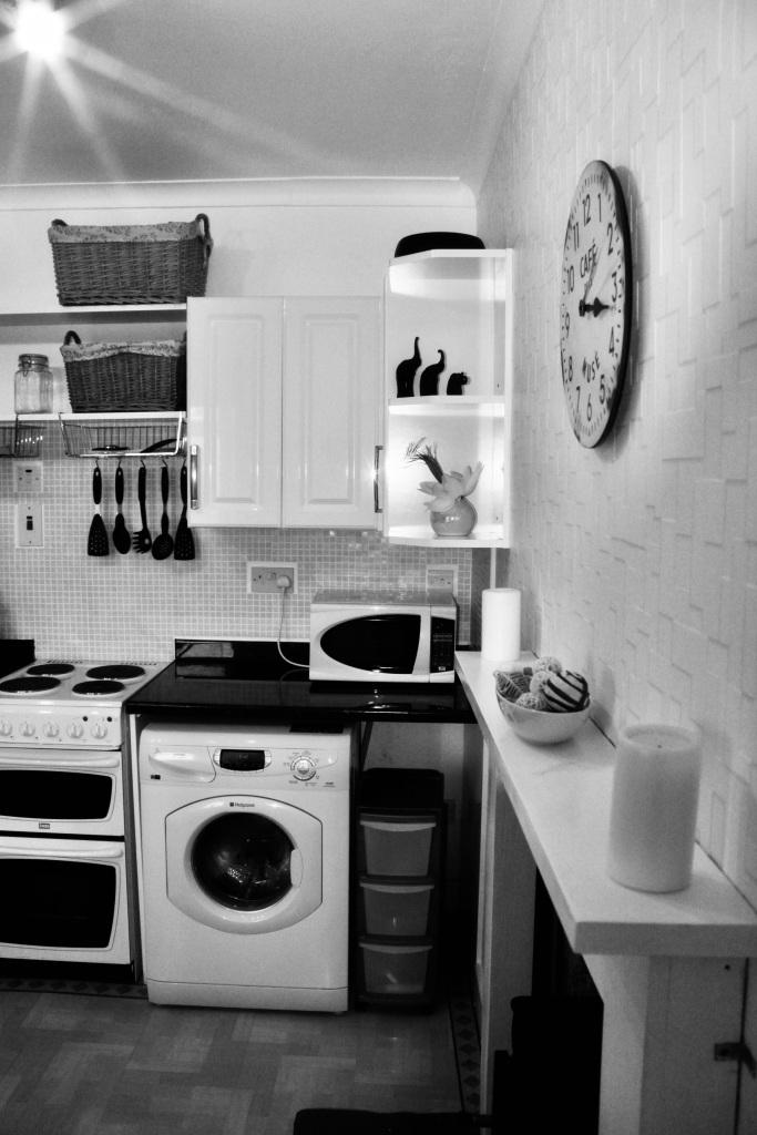Washing machine, oven & microwave
