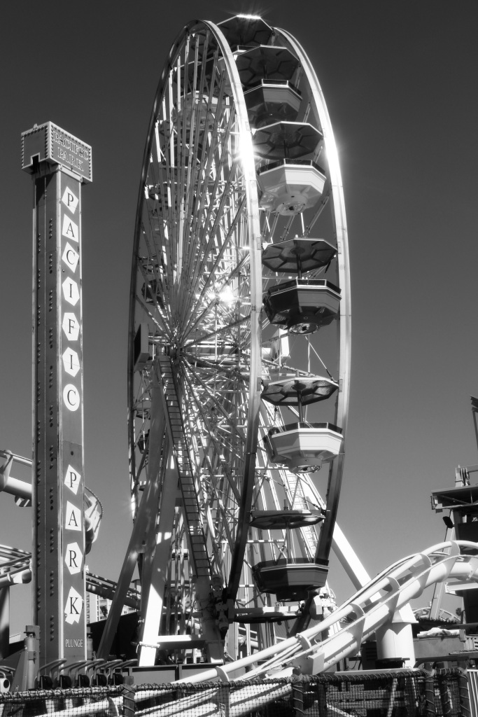 Ferris wheel on Santa Monica Pier