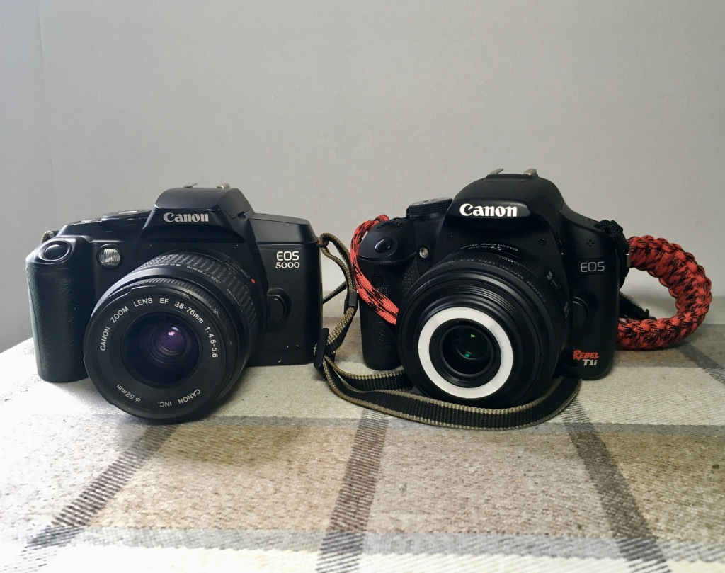 Old & new Canon