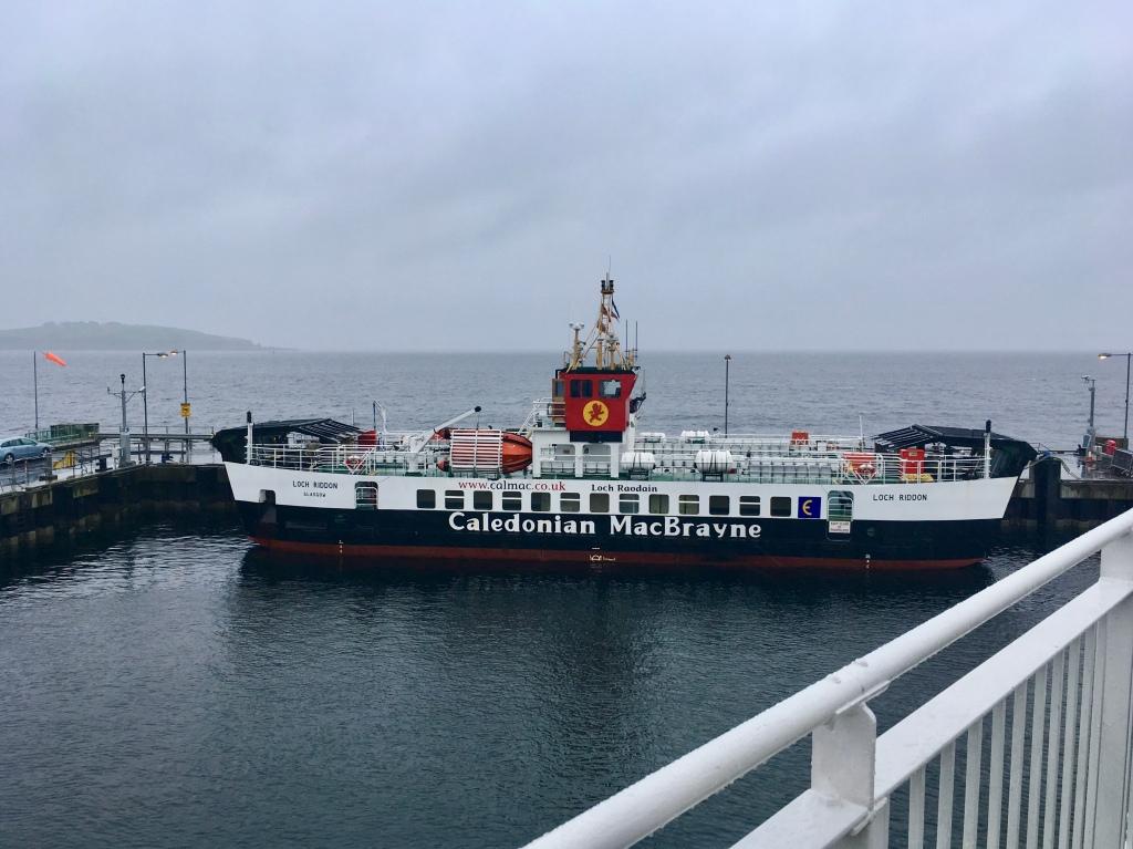 CalMac ferry at Largs